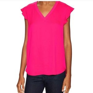 Kate Spade Pink Crepe Shirt
